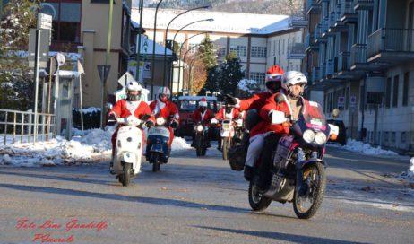 IX raduno motociclistico dei Babbo Natale