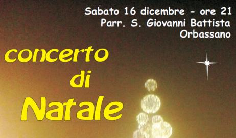 Ad Orbassano quattro cori in concerto per gli auguri di Natale