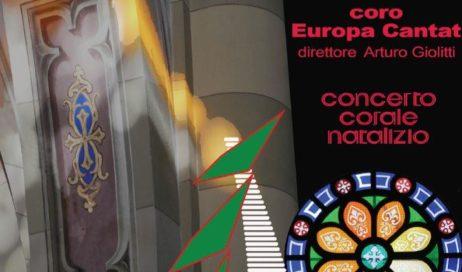 Pinerolo. Sabato 16 dicembre nella Basilica di San Maurizio concerto del coro Europa Cantat