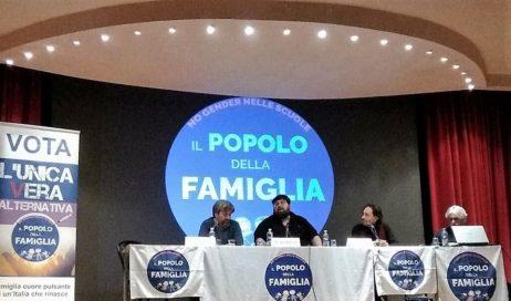 Mario Adinolfi a Pinerolo per lanciare il Popolo della Famiglia