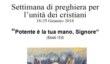 Settimana di Preghiera per l'Unità dei Cristiani: gli appuntamenti nella diocesi di Pinerolo
