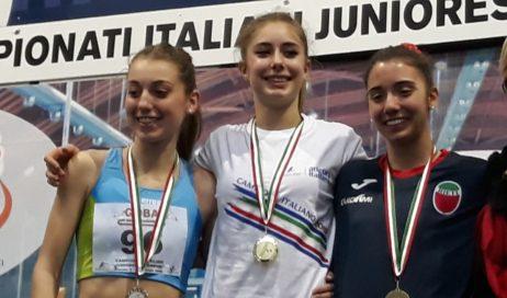 Atletica giovanile. Doppio argento per la giovane Elisa Palmero