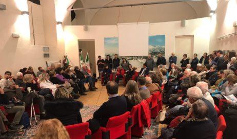 Lucia Annibali a Pinerolo per spiegare la sua candidatura