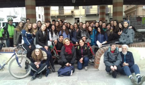 Pinerolo. Il Liceo Porporato… su due ruote!