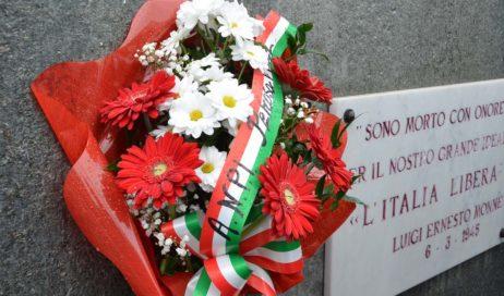[ photogallery ] Pinerolo. Commemorati i partigiani uccisi a Ponte Chisone