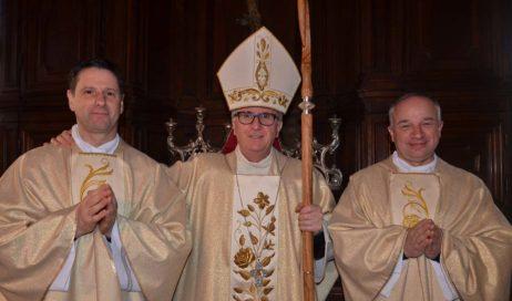 [ photogallery ] Pinerolo. Il vescovo Derio Olivero ha ordinato due nuovi presbiteri