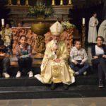 [ photogallery ] A Pinerolo la veglia pasquale in Cattedrale