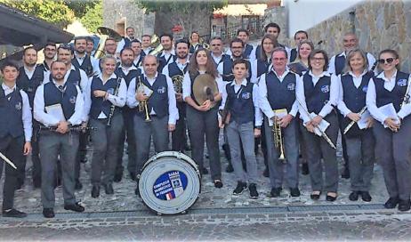 A Cavour arriva il complesso bandistico di Fagagna