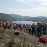 """Avigliana. Oltre 80 i partecipanti all'escursione """"dai laghi alla collina"""""""