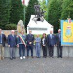[ photogallery ] San Pietro Val Lemina. L'ambasciatore argentino in visita al monumento dei Piemontesi nel mondo