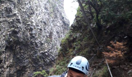Scivola nell'Orrido di Foresto. Salvato dal Soccorso Alpino