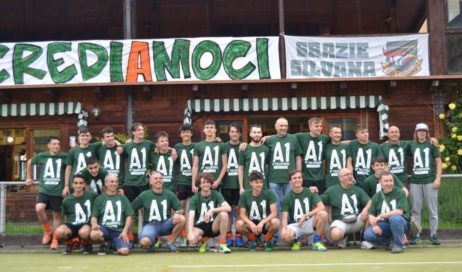 Hockey Valchisone promosso in A1