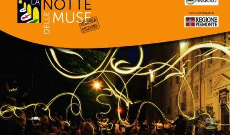 """Pinerolo. Dal 25 al 27 maggio torna """"La Notte delle Muse"""""""