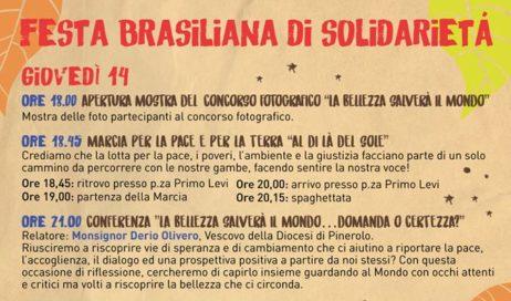 A Piossasco monsignor Derio Olivero apre la Festa brasiliana