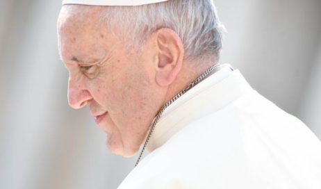 La tonaca di papa Francesco