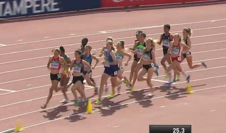 Mondiali under 20 di atletica. 9° posto per la perosina Elisa Palmero