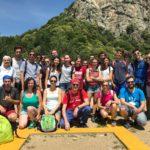 Il vescovo di Pinerolo e i giovani a casa Canada per preparare il pellegrinaggio a Roma