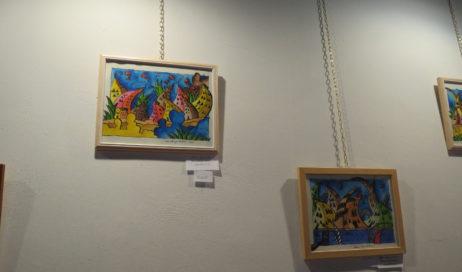 [ Photogallery ] Pragelato. Mostra dei quadri di don Roventi