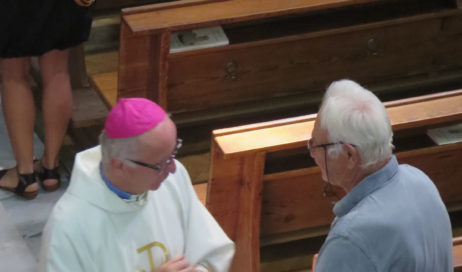 [ Photogallery ] Dubbione. Il vescovo e il pane di San Rocco