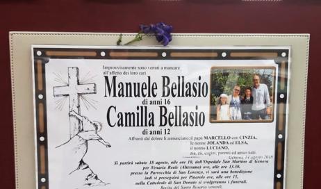 Sarà il vescovo Derio Olivero a presiedere i funerali della famiglia pinerolese scomparsa a Genova