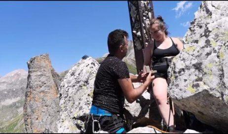 Amore ad alta quota (Storia di una proposta di fidanzamento sulla Rocca Provenzale)