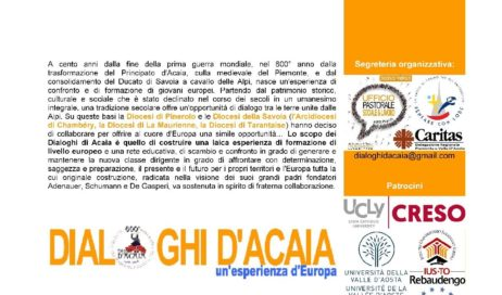 "Luserna Alta. Francia e Italia si incontrano con i ""Dialoghi d'Acaia"""