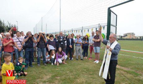 [ photogallery ] Inaugurato il nuovo campo da calcio di Buriasco dove giocherà la Rivese