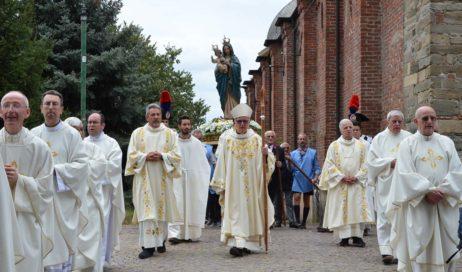 [ photogallery ] Nella Basilica di San Maurizio monsignor Olivero ha concluso la festa del Santuario Diocesano
