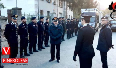 Sabino Cavaliere visita i Reparti Specializzati e Mobili dei Carabinieri