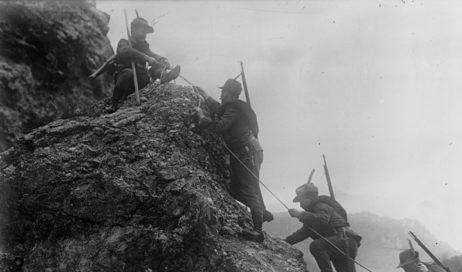Gli Alpini ricordano la fine della Grande guerra