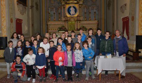 Pinasca. Iniziato l'anno catechistico nella parrocchia Santa Maria Assunta