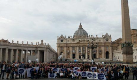 Anche una delegazione di Pinerolo in piazza San Pietro con il Popolo della Famiglia