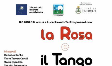 "Pinerolo. ""La Rosaeil Tango"" va in scena per ANAPACA"