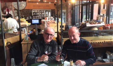 Il vescovo ha incontrato il responsabile pinerolese di Eataly