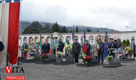 [ photogallery ] Commemorazione dei defunti nel cimitero di Pinerolo