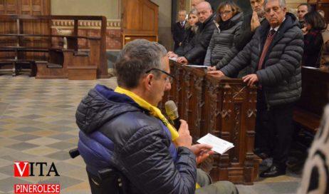 [ photogallery ] A Pinerolo il vescovo Derio ha presieduto la messa con le associazioni laicali