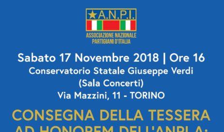Torino-Garzigliana. Doppio appuntamento per l'ANPI