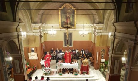 Festa di Santa Barbara a Riva di Pinerolo