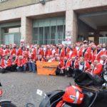 [ photogallery ] Babbi Natale motociclisti: in 150 da Pinerolo