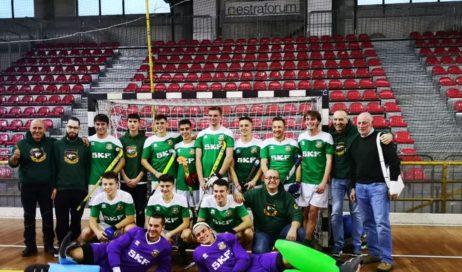 I ragazzi dell'SKF HP Valchisone promossi in A1 nell'hockey indoor