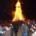 [ photogallery ] Il vescovo Derio al fuoco valdese di Bricherasio