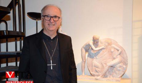 [Photogallery]. Pinerolo: inaugurata al Museo diocesano la mostra di Gabriel Fekete