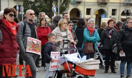 [ photogallery ] In tanti in piazza Facta per dire no al razzismo
