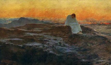 Gesù pieno di Spirito Santo, guidato nel deserto