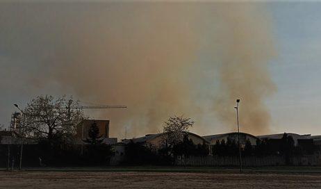 Incendio ex-Annovati. Oltre a quelli dell'ARPA arrivano i rilevamenti del Politecnico