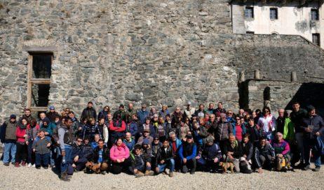 """Tanti gruppi """"montagnaterapia"""" al Forte di Fenestrelle"""