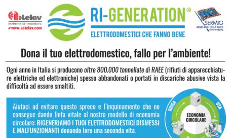 RI-GENERATION: gli elettrodomestici usati prendono una seconda vita