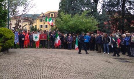 [ video ] 25 aprile. A Cumiana si ricordano i caduti per la libertà