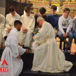 [ photogallery ] La lavanda dei piedi nella cattedrale di Pinerolo