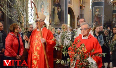 [Photogallery]. La Settimana Santa col vescovo Derio